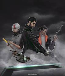 Deus Ex: Mankind Divided - System Rift by maXKennedy