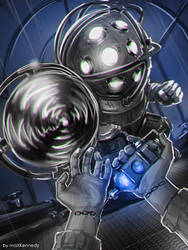 Bioshock - Deep blue by maXKennedy