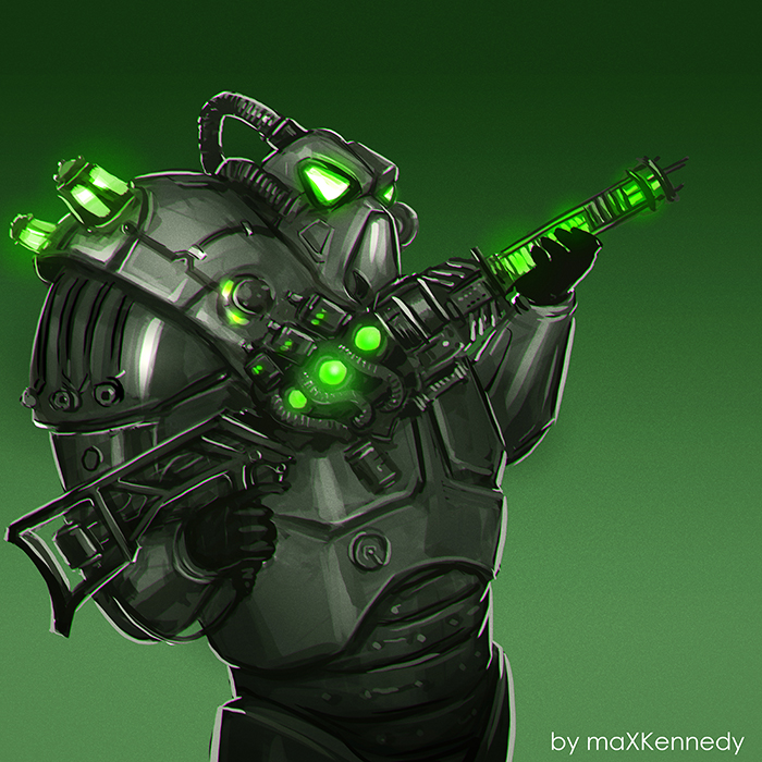 Fallout 3 Fan Art: The Enclave Soldier By MaXKennedy On DeviantArt