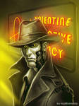 Fallout 4 - Nick Valentine sketch