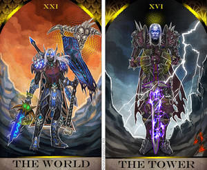 Warcraft Tarot Cards commission