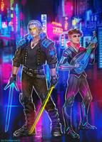 Cyberpunk 2077 x Witcher crossover