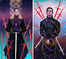 Winter Soldier - Swords