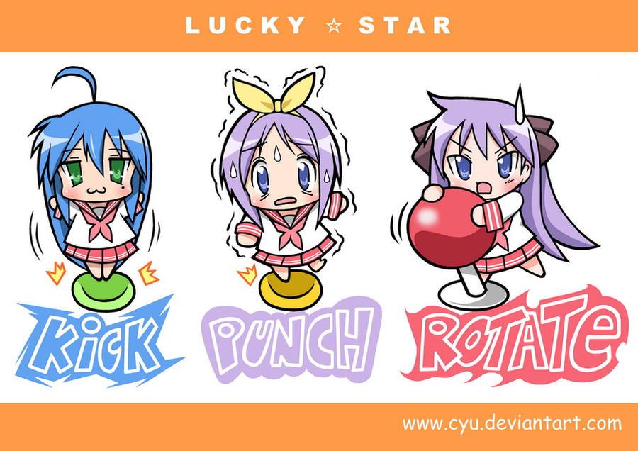 Chibi Lucky Star by cyu