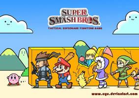 Super Smash Bros by cyu
