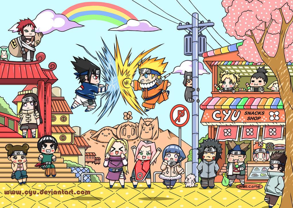 NaruSasu Fighting Show