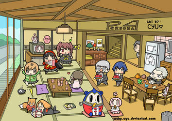 Chibi Persona 4 by cyu