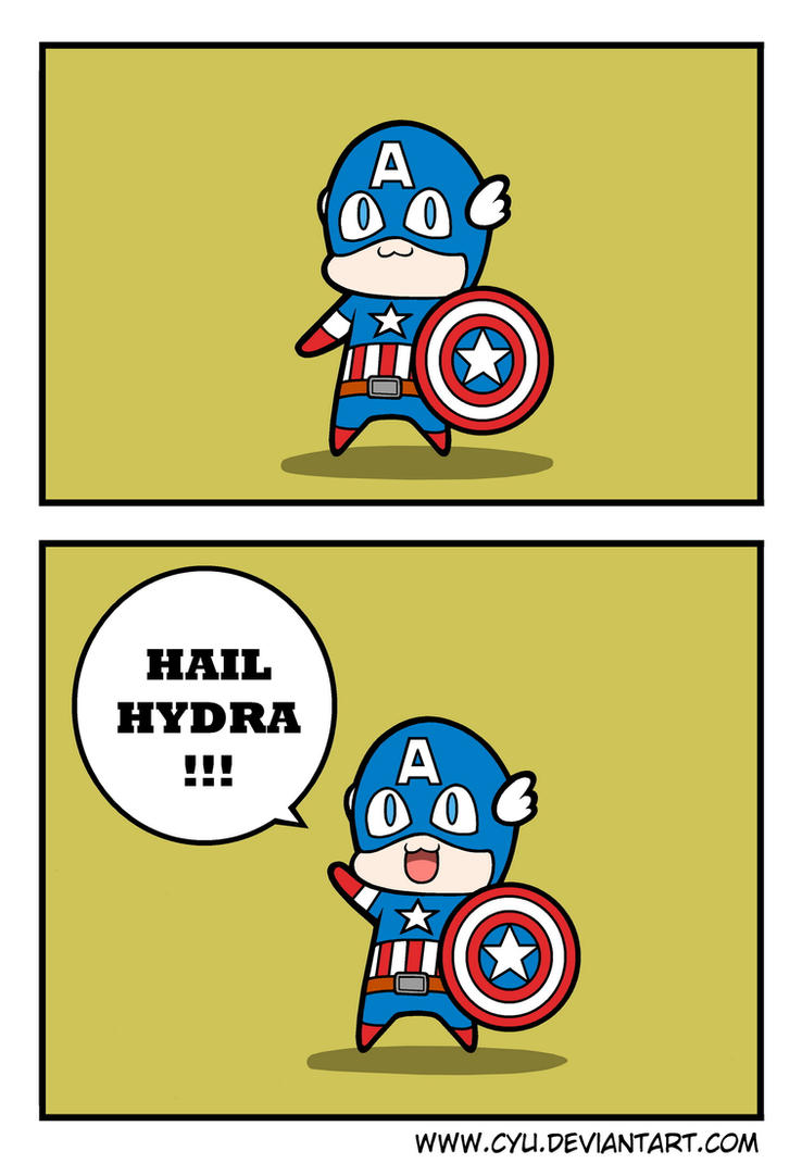 Captain America in a Nutshell by cyu