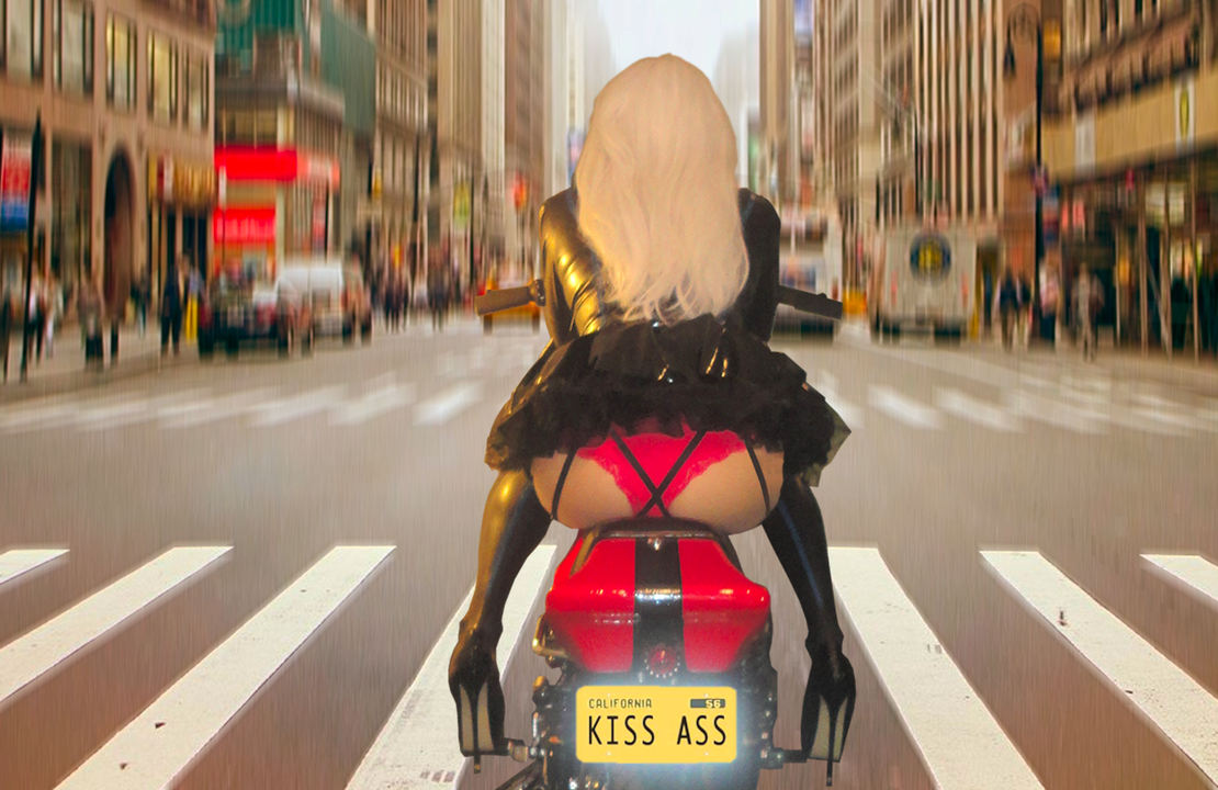 Kiss Ass 5 (flying!) by shazzz999