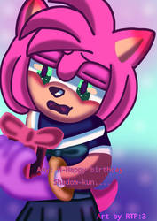 Amy's gift to shadow