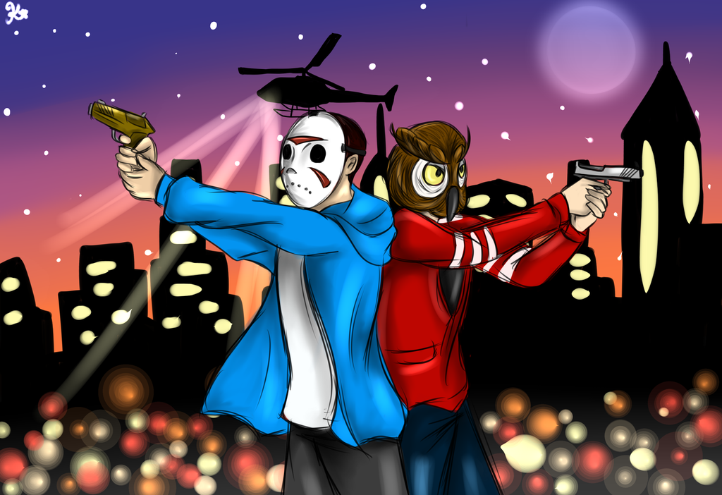 Vanoss and the crew