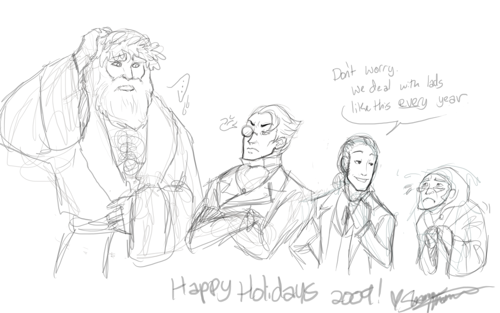 Happy Holidays 2009 by tsukinoyagami