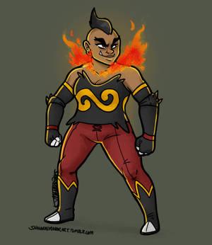 Pokemon Gijinka Collab: Emboar