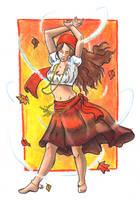 Autumn Dancer by crazy-fae