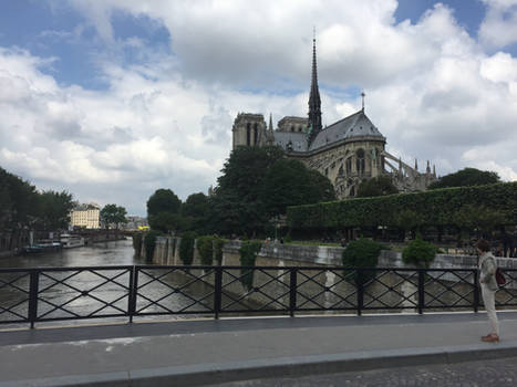Notre Dame before the fire