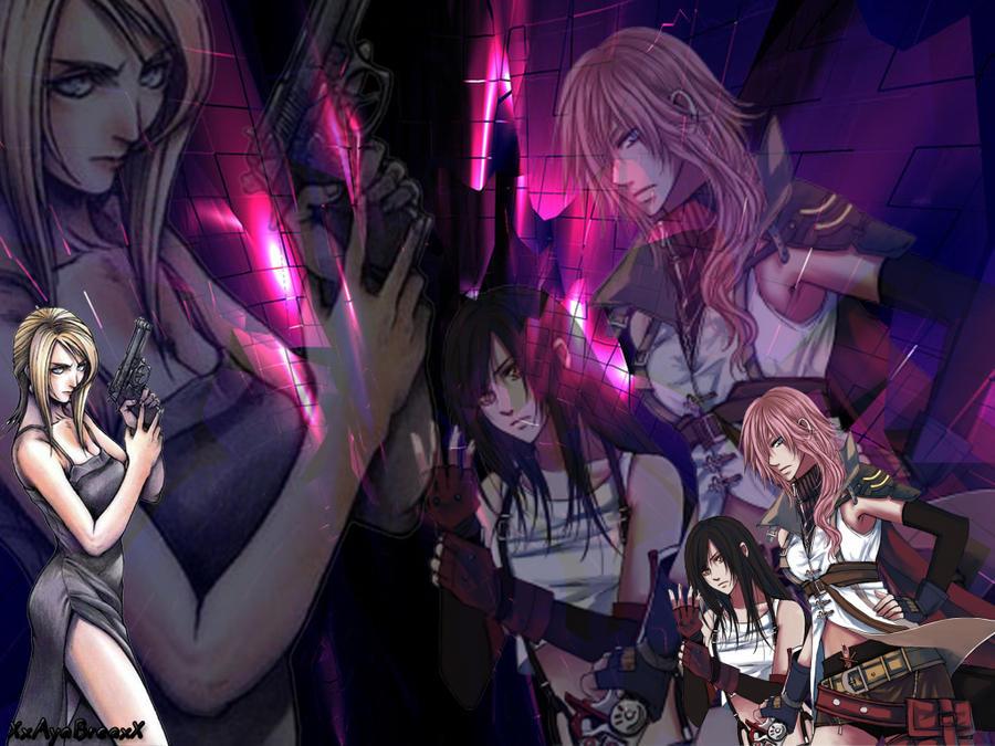 Final Fantasy VS Parasite Eve by lzanami