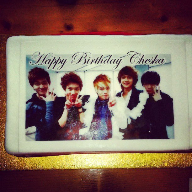 SHINee Birthday Cake My 20th by IIRaChanII