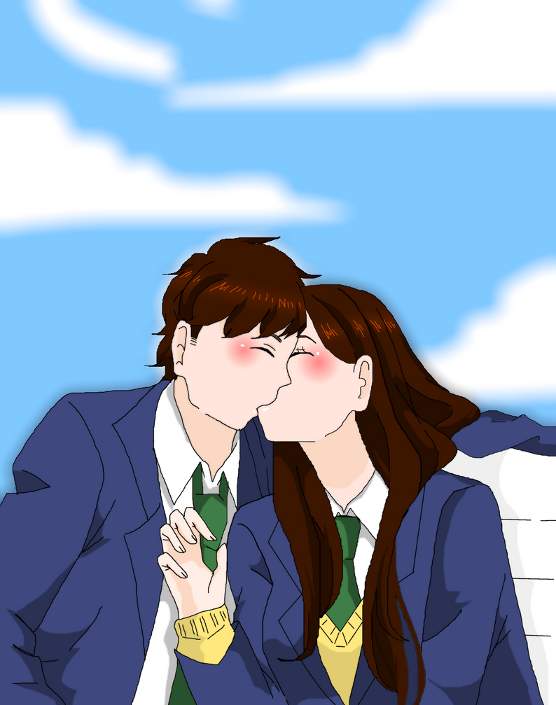 how to kiss a girl in school