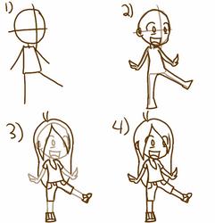 How to Draw a Cartoon Chibi