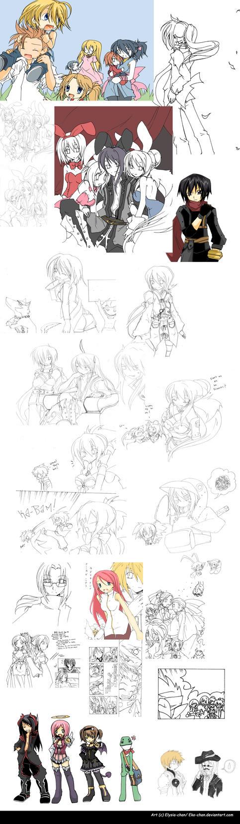 Yuri And Flynn Mystic Arte Art Dump Part By Eko Chan