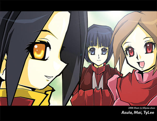 Team Azula by Eko-chan