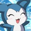 Chibimon Happy Avatar by MerzWorks