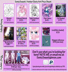 SonicSweeti/Amber Davis Art Price Sheet [OPEN]