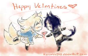 Happy Valentine Kitties