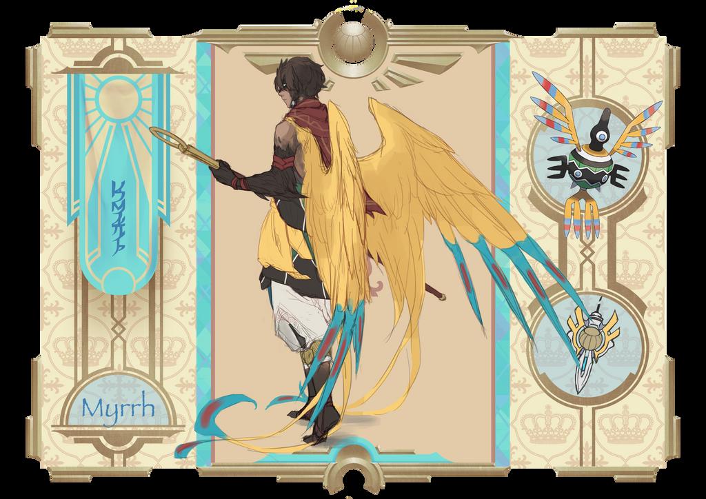 Poke-Ren: Myrrh