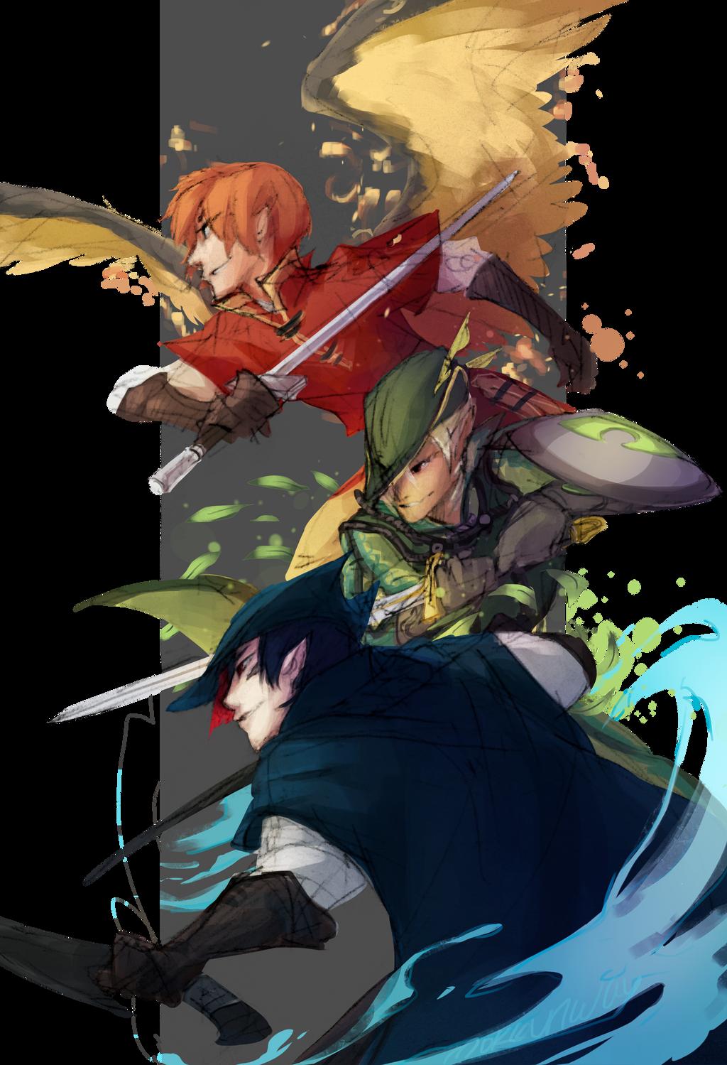 P-Ren Sketchtober: Blade