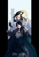 P-ren Sketchtober: Hero by Mokkun-Way