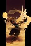 Poke-Ren Sketchtober: Fusion