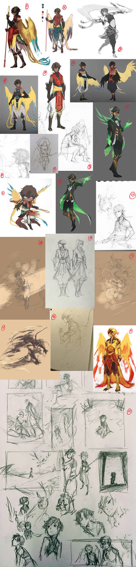 P-REN Sketchdump 1