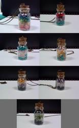 Pride Jars - close up