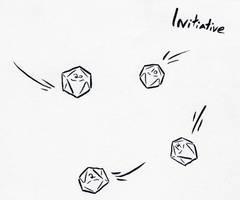 Inktober Day 6 - Initiative