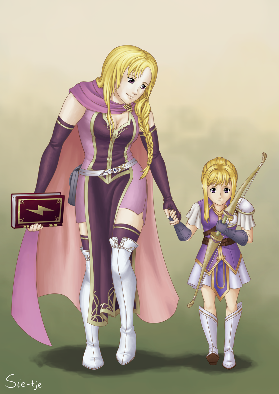 fe sage louise and archer clarine by sietje on deviantart