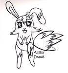 FREE Bunny Lineart