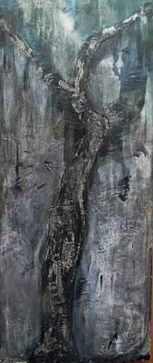akryl na platne, STROM, 110,5cm x 45cm, duben 2015