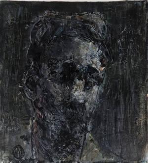 Autoportret, Cerven 15, Akryl Na Sololitu