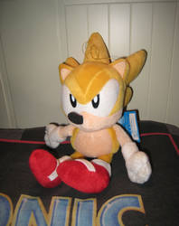 Sonic the Fighters Super Sonic Plush