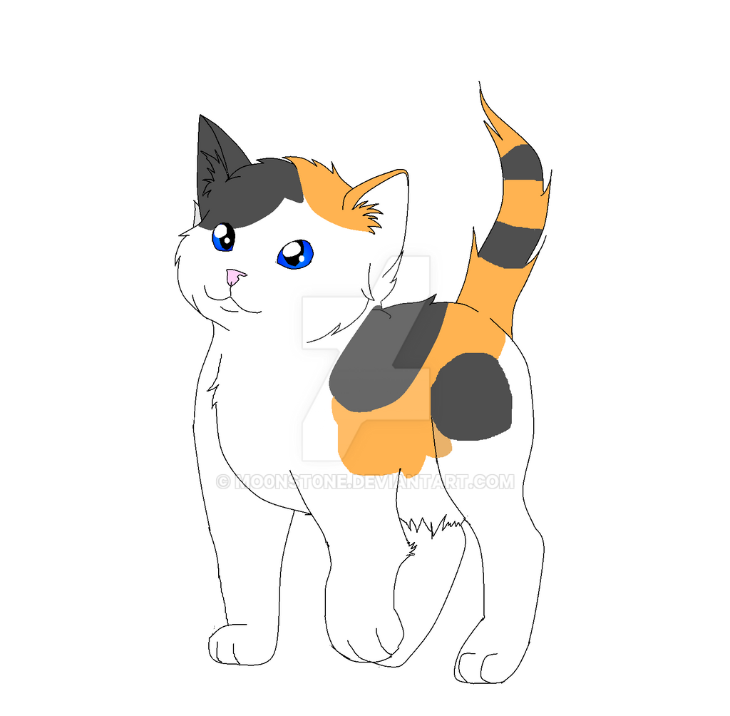 Another Cat Adoptable (10 points) by MO0NST0NE