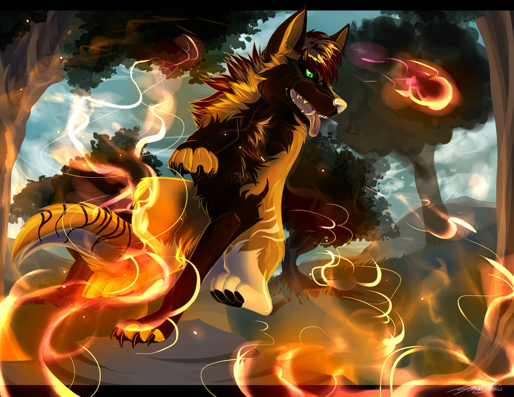 Rage Against the Fire - CO by MoscoMoon