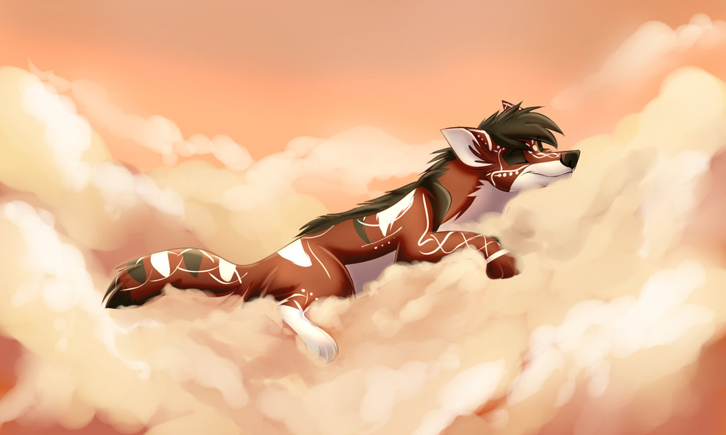 Heaven Nap COMMISSION by MoscoMoon