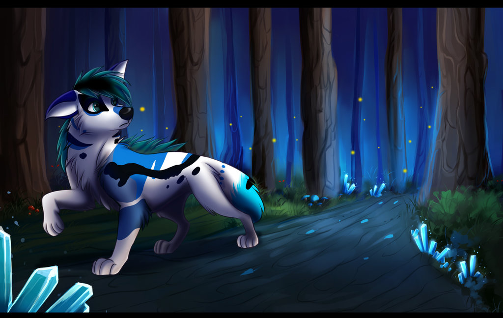 Mysterious Forest (COM) by MoscoMoon