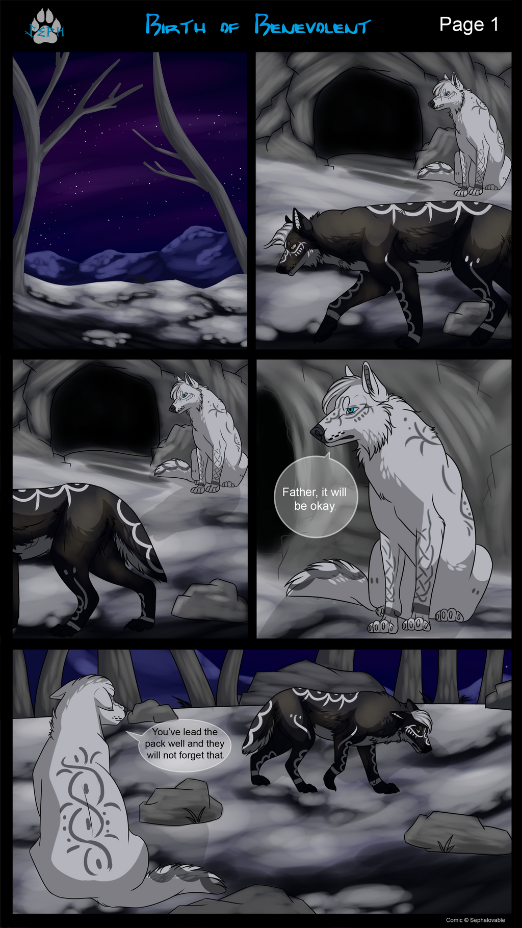 Birth of Benevolent Page 1 by MoscoMoon