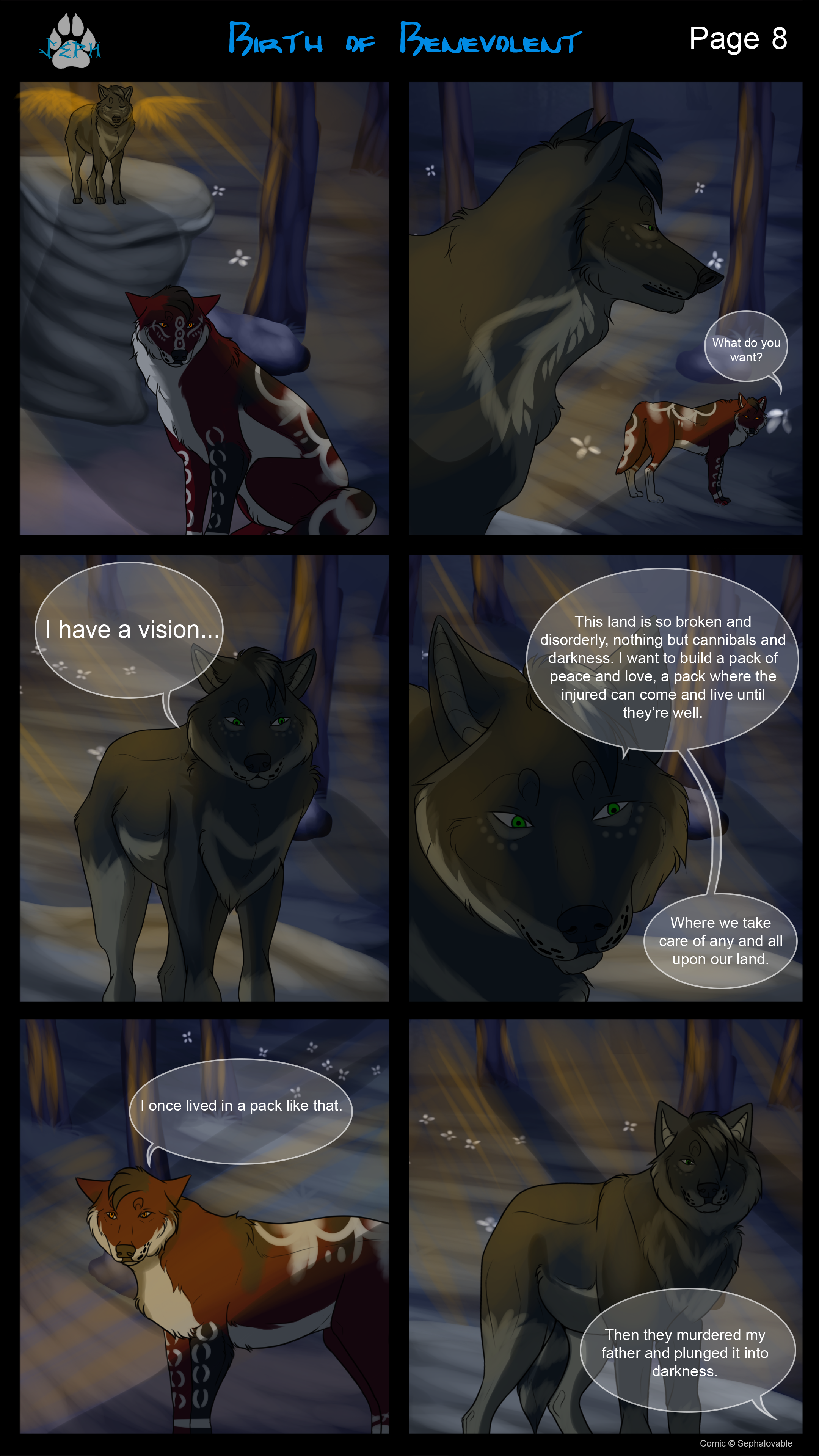 Birth of Benevolent Page 8 by MoscoMoon
