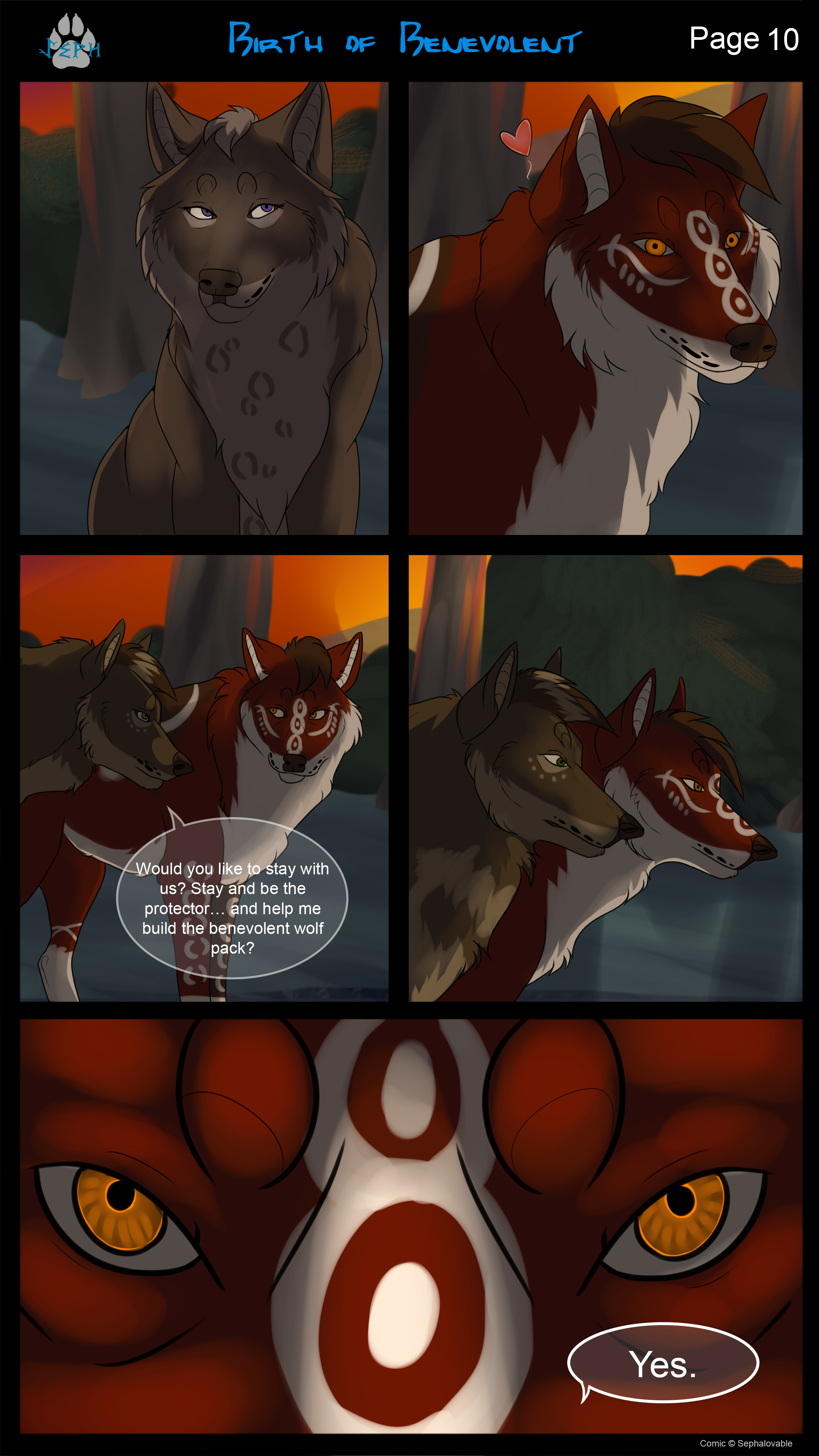 Birth of Benevolent Page 10 by MoscoMoon
