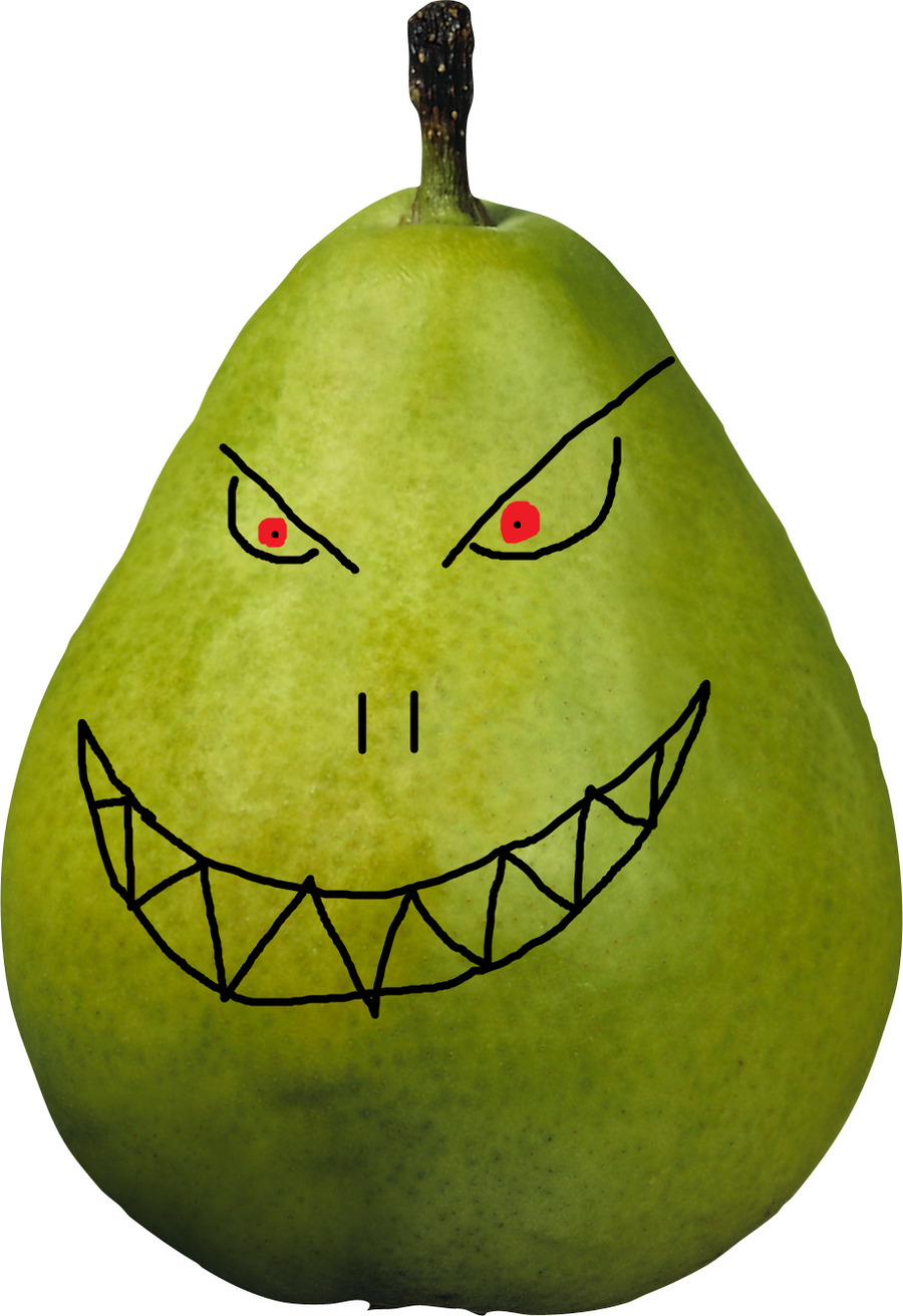 Pear of death? by MoscoMoon