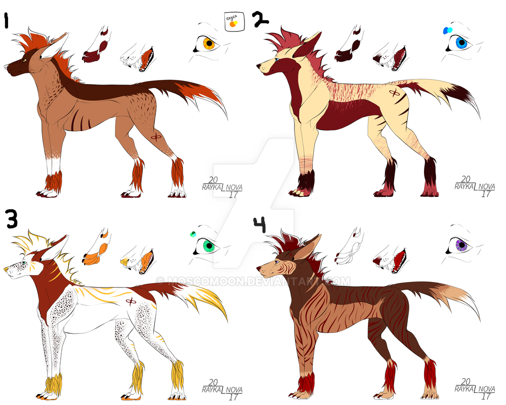 Savannah Lethan Adopts (OPEN) by MoscoMoon