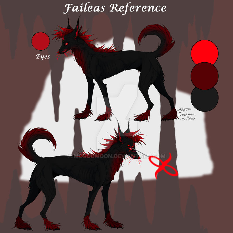 Faileas Reference by MoscoMoon
